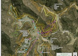 Grand Vue Park Map for Mountain Biking