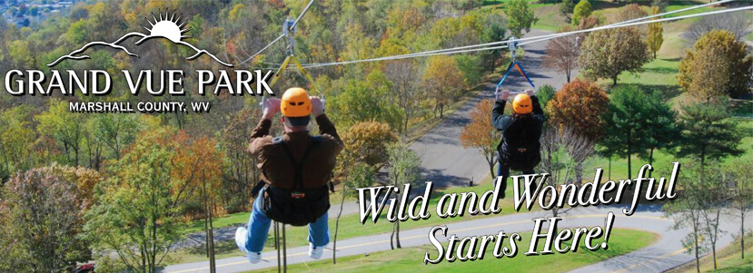 Grand Vue Park Marshall County WV Wild and Wonderful Starts Here